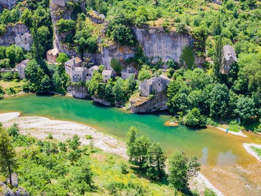 Gorges et vallées